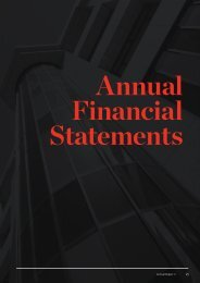 Annual Financial Statements - University of Canterbury