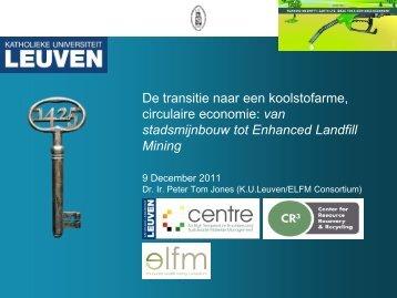 van stadsmijnbouw tot Enhanced Landfill Mining - GEF