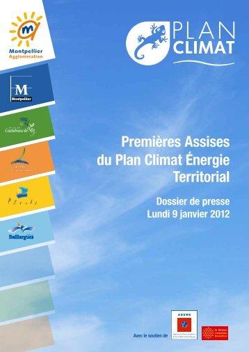 Premières Assises du Plan Climat Énergie Territorial - Montpellier ...