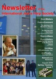 IJHS Newsletter 7