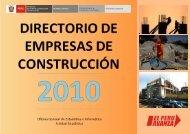 Razón Social - Ministerio de Vivienda, Construcción y Saneamiento