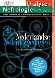weten over de 7e nederlandse nefrologiedagen? - V&VN Dialyse en ...