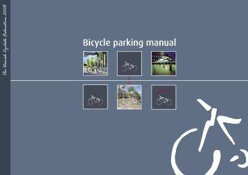 Bicycle parking manual