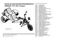 Montagehinweis HS4 00 Seite: 1 - Trike Centrum Vinkeveen