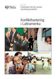 Konflikthantering i Latinamerika