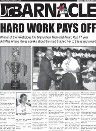 Winner of the Prestigious T.A. Marryshow Memorial Award Cup 17 ...