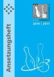 Herren 2010 / 2011 - Thüringer Kegler-Verband e.V.