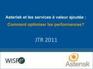 Asterisk et les services à valeur ajoutée