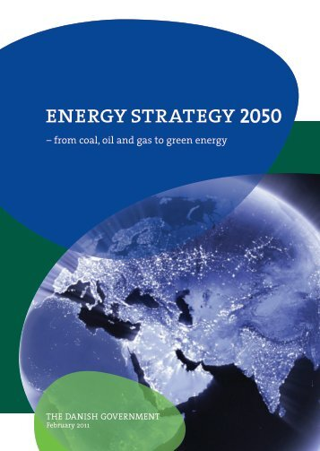 Energy Strategy 2050 – from coal, oil and gas