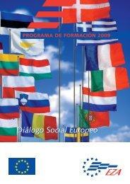 Diálogo Social Europeo - EZA