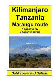 Kilimanjaro, Marangu route 6 dagar - Dahl Safaris