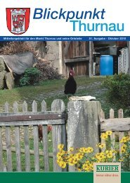 Blickpunkt - Freundeskreis Thurnau-Positano