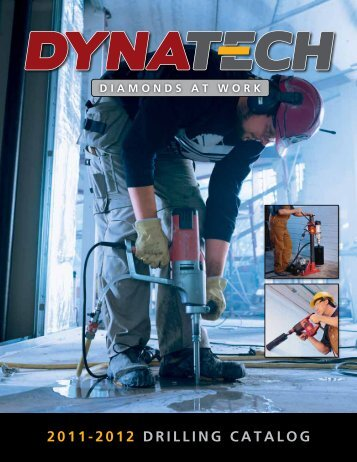 2011-2012 DRIllINg cATAlOg - Dynatech