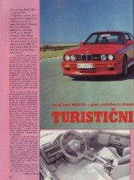 Prenesi PDF testa BMW BMW M3 sport evolution in ... - Avto Magazin