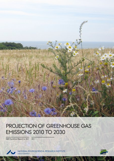 Projection of Greenhouse Gas Emissions 2010 to 2030
