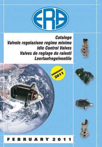 idle control valve 2011/2012