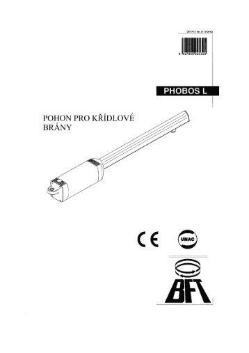 PHOBOS L.pdf - Pohony bran BFT