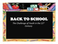 BACK TO SCHOOL - Good News Gospel Explosion