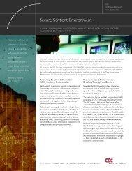 Secure Sentient Environment - CSC