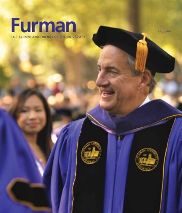 FOR ALUMNI AND FRIENDS OF THE ... - Furman University