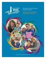 Educational Services Division Special Education Student Services ...