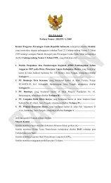 P U T U S A N Perkara Nomor: 28/KPPU-L/2008 Komisi Pengawas ...