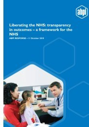 ABPI Submission_Transparency in outcomes_Additional comments ...