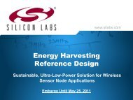 Silicon Labs PowerPoint - ECN
