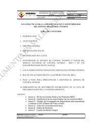 guia sostenibilidad - revisión consolidada  agosto - Veeduría Distrital ...