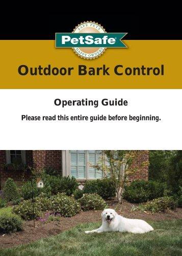 Outdoor Bark Control - PetSafe