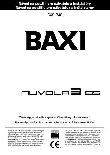 Návod na použití pro uživatele a instalatéry Návod na použitie ... - Baxi
