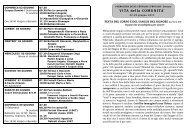 Avvisi della 23^ settimana dal 2 al 9 giu. 2013 - Parrocchia Bariano