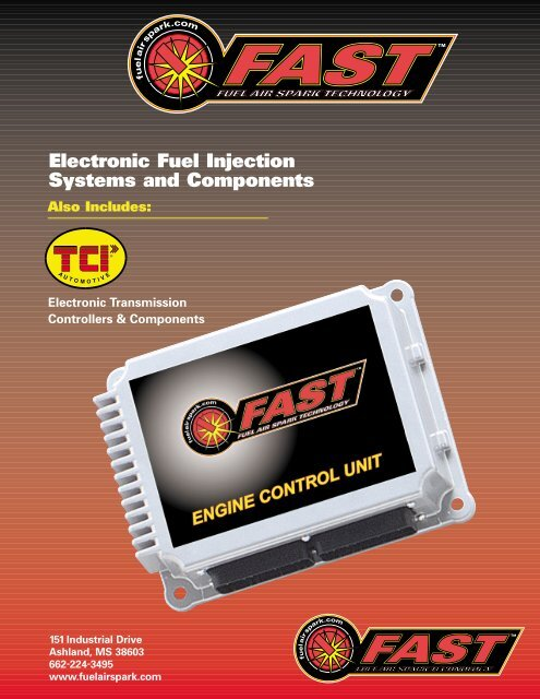 Electronic Fuel Injection Systems and Components - efisupply com
