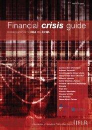 Financial crisis guide - ICMA