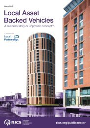 Local Asset Backed Vehicles