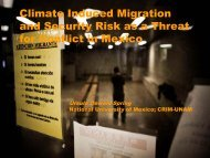 download presentation - Research Group Climate Change and ...