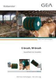 E-brush, M-brush Kobørster - Mullerup