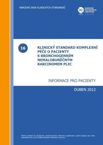 Informace pro pacienty - Česká pneumologická a ftizeologická ...