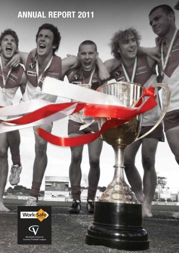 2011 VCFL Annual Report - Victorian Country Football League