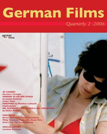 Quarterly 2 · 2006 - german films