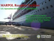 MARPOL Presentation September 2009 - Port Compliance.org