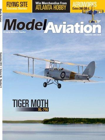 TIGER MOTH - Model Aviation