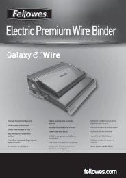 Electric Premium Wire Binder - Fellowes