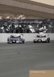 Have you ever felt the spirit of racing? - futurecom-world.com