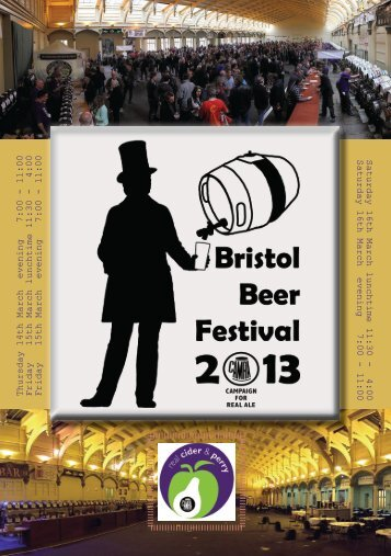 High resolution Festival Programme - Bristol & District CAMRA