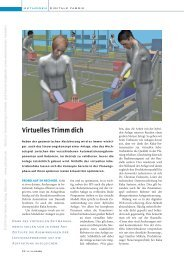 Virtuelles Trimm dich (625 KB) - K Magazin