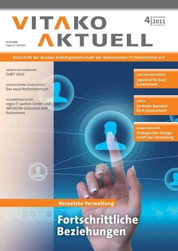 Vitako aktuell 4-2011 Ausgabe regio iT, Aachen - WEB