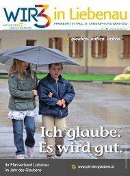glauben. hoffen. lieben. - Liebenau St. Paul - Diözese Graz-Seckau