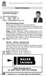 04841 /8359-58 Gesellschaft-Politik-Umwelt - Volkshochschule ...