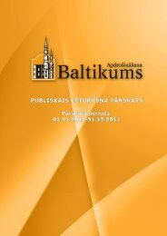 Finanšu rādītāji par 2011.gada 4.ceturksni - Baltikums